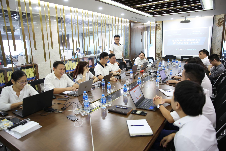 Lớp tập huấn phương pháp lập và trình bày báo cáo tài chính hợp nhất